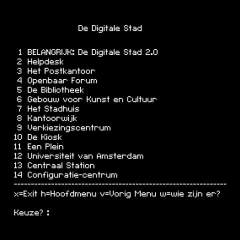 Amsterdam I: 020nline, de Digitale Stad en het internet
