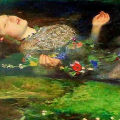 Ophellia door Millais