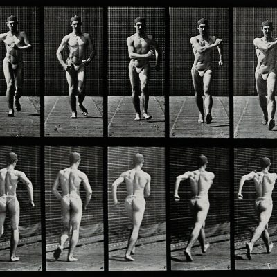 V0048617 A man speed-walking. Photogravure after Eadweard Muybridge, Credit: Wellcome Library, London. Wellcome Images images@wellcome.ac.uk http://wellcomeimages.org A man speed-walking. Photogravure after Eadweard Muybridge, 1887. 1887 By: Eadweard Muybridge and University of Pennsylvania.Published: 1887  Copyrighted work available under Creative Commons Attribution only licence CC BY 4.0 http://creativecommons.org/licenses/by/4.0/